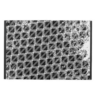 Black And White Pattern Distressed Powis iPad Air 2 Case