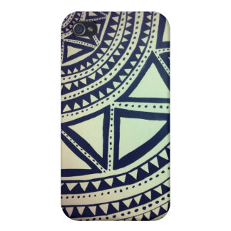 Black and white pattern iPhone 4 cases