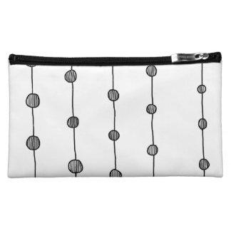 Black and White pattern Makeup bag   pretty bag