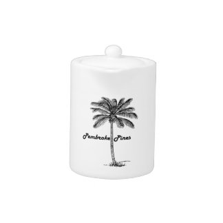 Black and White Pembroke Pines & Palm design