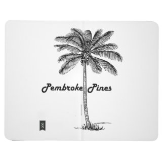 Black and White Pembroke Pines & Palm design Journals