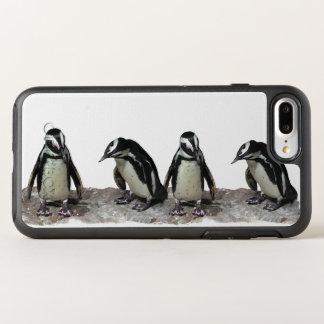 Black and White Penguin Birds OtterBox Symmetry iPhone 7 Plus Case