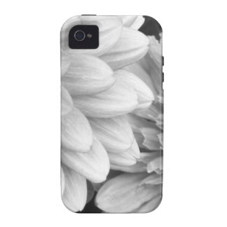 Black and White photo Flowers iPhone 4 Cover