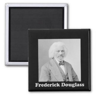 Black and White Photograph of Frederick Douglass Magnet