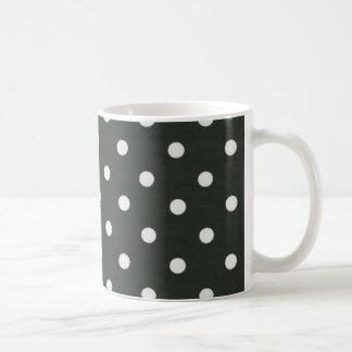 Black and White Polka Dot Mug