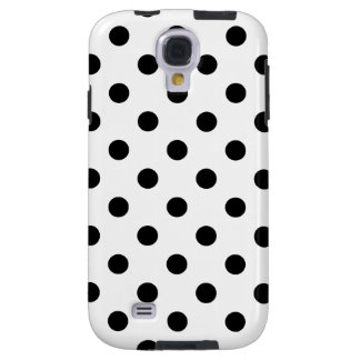 Black and White Polka Dot Pattern