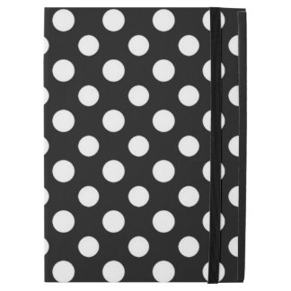 Black and White Polka Dot Pattern iPad Pro Case