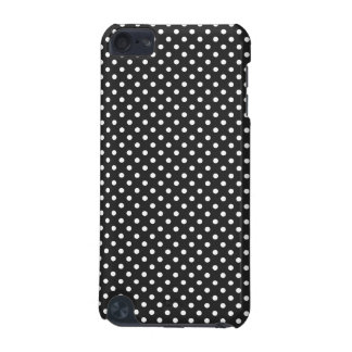 Black and White Polka Dot Pattern iPod Touch 5G Cases