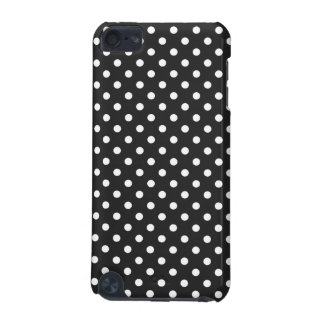 Black and White Polka Dot Pattern iPod Touch 5G Cover