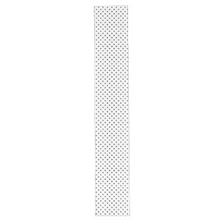 Black and White Polka Dot Pattern Long Table Runner