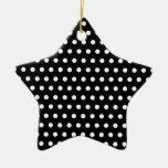 Black and White Polka Dot Pattern. Spotty. Ornament