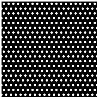 Black and White Polka Dot Pattern. Spotty. Cut Out