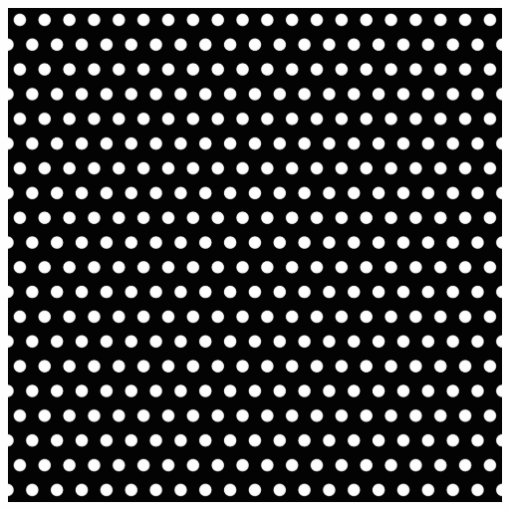 Black and White Polka Dot Pattern. Spotty. Cut Out