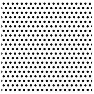 Black and White Polka Dot Pattern. Spotty. Acrylic Cut Out