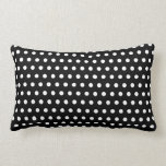 Black and White Polka Dot Pattern. Spotty. Throw Pillows