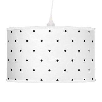 Black And White Polka Dot Pendant Lamp