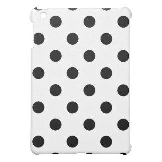 Black and White Polka Dots Case For The iPad Mini