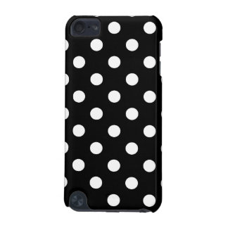 Black and White Polka Dots Pattern iPod Touch 5G Covers