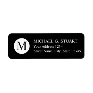 Black and White Professional Monogram