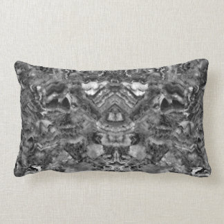 Black and white Quartz Lumbar Pillow