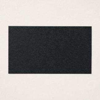 Black and White Retro Modern Monogram Business Card
