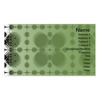 Black and White Ripples Big Inverted Pack Of Standard Business Cards