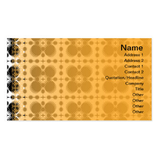 Black and White Ripples Small Inverted Pack Of Standard Business Cards