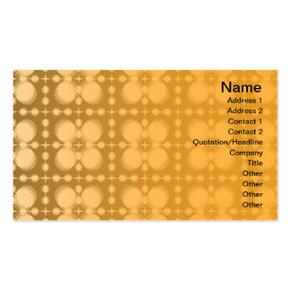 Black and White Ripples Small Pack Of Standard Business Cards
