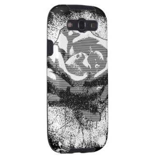 Black And White Rose Fine Art Galaxy SIII Case