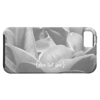 Black And White Rose iPhone 5 Cases