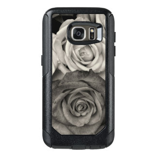 Black and White Roses OtterBox Samsung Galaxy S7 Case