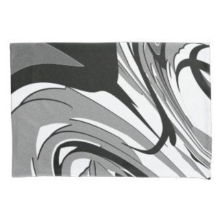 Black and White Shape Art Pillowcase