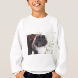Black and White Sheltie Sweatshirt
