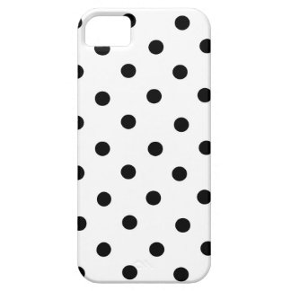Black and White Small Polka Dot iPhone Case iPhone 5 Cases