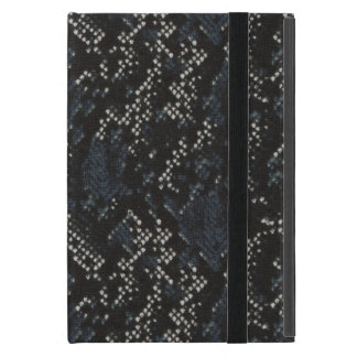 Black and White Snake Skin iPad Mini Case