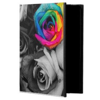 black and white splash roses (BW)