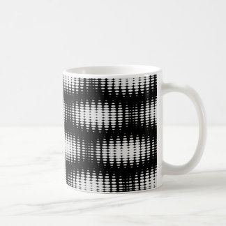 Black And White Spot Pattern Coffee Mug