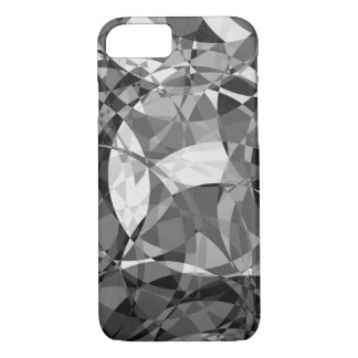 Black and white squares in circles Case-Mate iPhone case