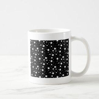 Black and White Stars Mugs