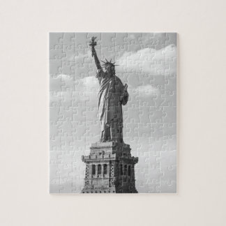 Black and White Statue of Liberty Puzzles