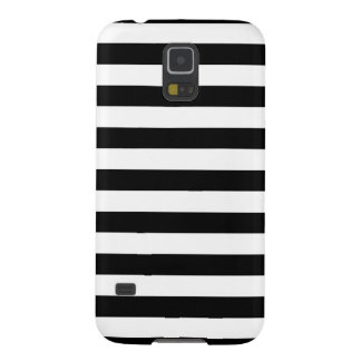 Black and White Stripe Pattern Galaxy S5 Cover