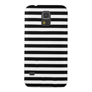 Black and White Stripe Pattern Galaxy S5 Covers