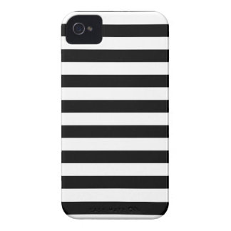 Black and White Stripe | Striped Design iPhone 4 Cover