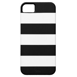 Black and White Striped - iPhone 5 Case
