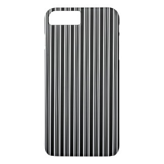 Black And White Striped Pattern iPhone 7 Plus Case