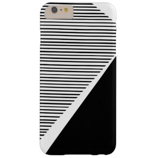 Black and white striped phone case
