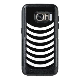 Black And White Stripes OtterBox Samsung Galaxy S7 Case