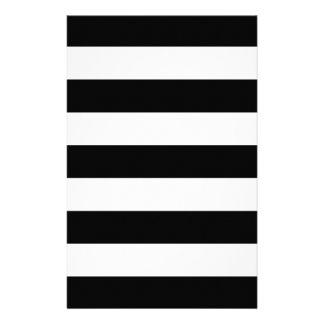 Black And White Stripes Stylish Flyer