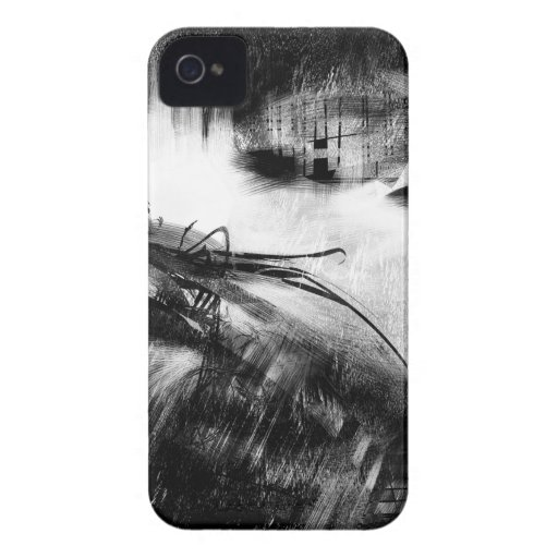 Black and White Style 2 Case-Mate iPhone 4 Cases