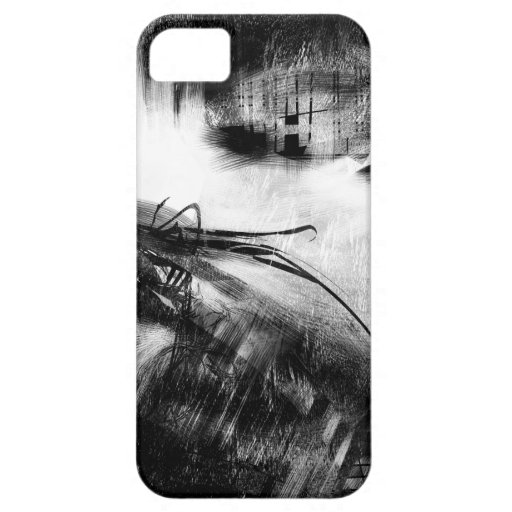 Black and White Style 2 iPhone 5 Cover